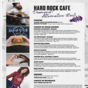 boston halloween hard rock menu